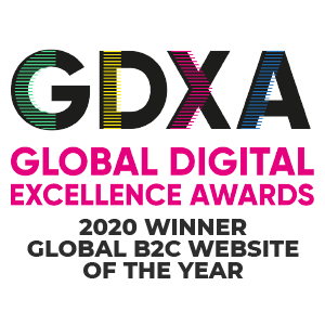 Global Digital Excellence Awards - Global B2C Website of the Year