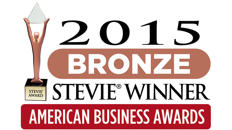 2015 Bronze Stevie Awards