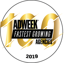 Adweek 100 Fastest Growing Agencies Seal
