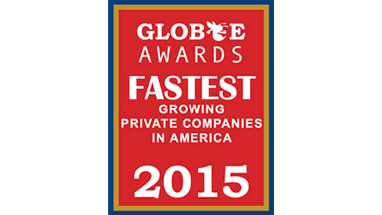 Globee Fastest-Growing Company Awards 2015