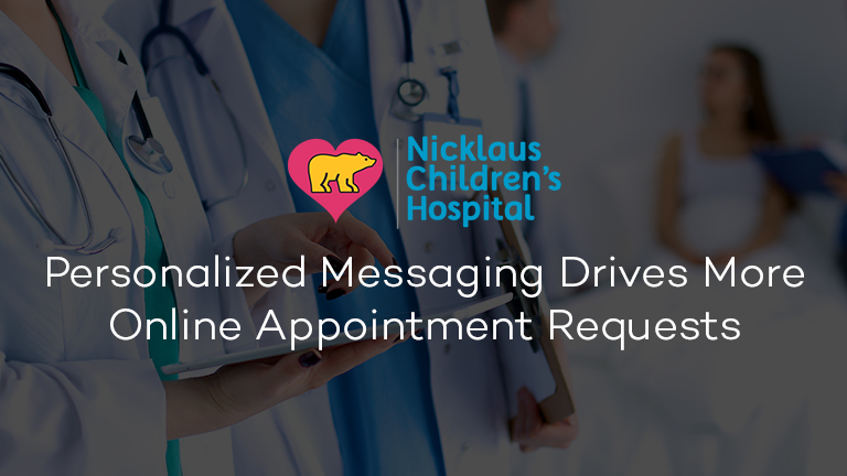 Nicklaus Children's Hospital Personalized Programmatic Case Study