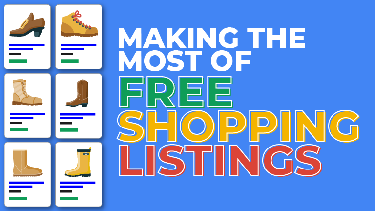 Making the Most of Google's New Free Shopping Listings