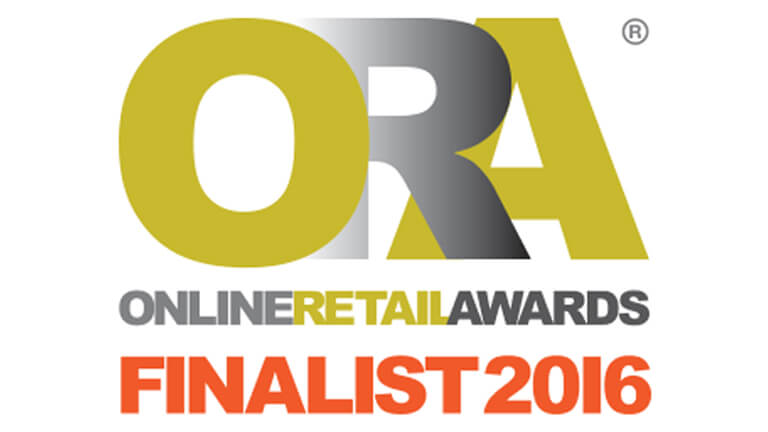 Online Retail Awards Finalist 2016