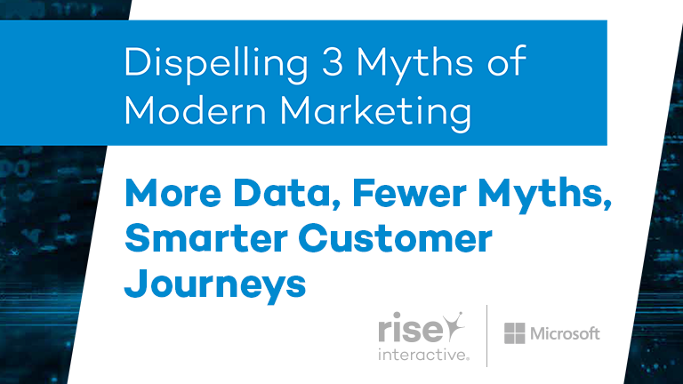 More Data, Fewer Myths, Smarter Customer Journeys
