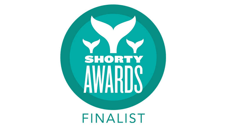 Shorty Awards Finalist