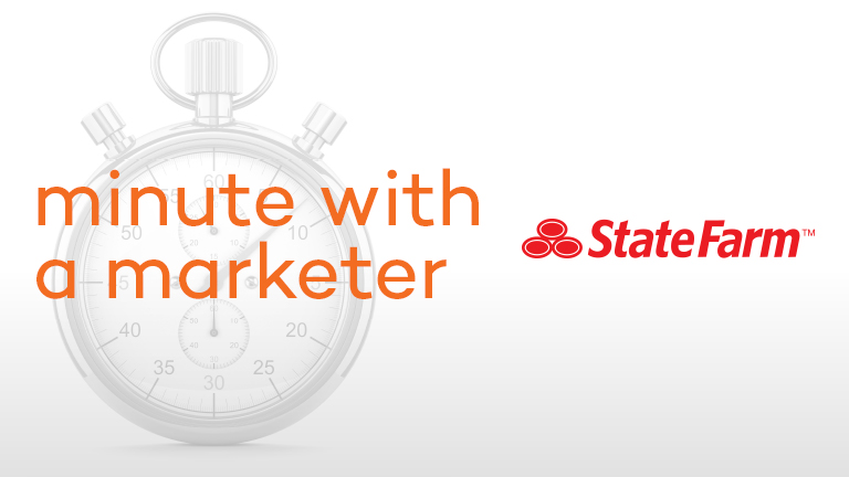 Minute with a Marketer: State Farm's Advertising Director Share Industry Insight