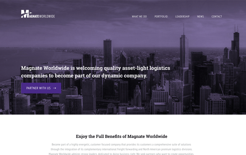 Web & Mobile Dev Screen - Magnate